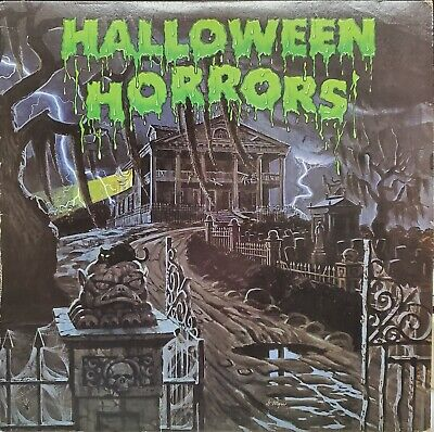 The Sounds Of Halloween 1977 (The Sounds Of Halloween Horrors 1977 Record Vintage Scary)