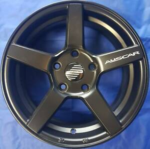 SET OF FOUR (4) AUSCAR 15x6.5 5/114.3 et38 VANTAGE Blacktown Blacktown Area Preview