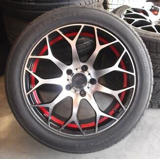 Avid 17'' Alloys with Tyres Toowoomba 4350 Toowoomba City Preview