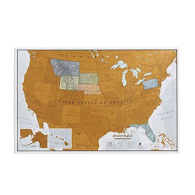 Maps International Scratch Off Map Of The US – USA Wall Map – Scratch Off (Maps Of Us)