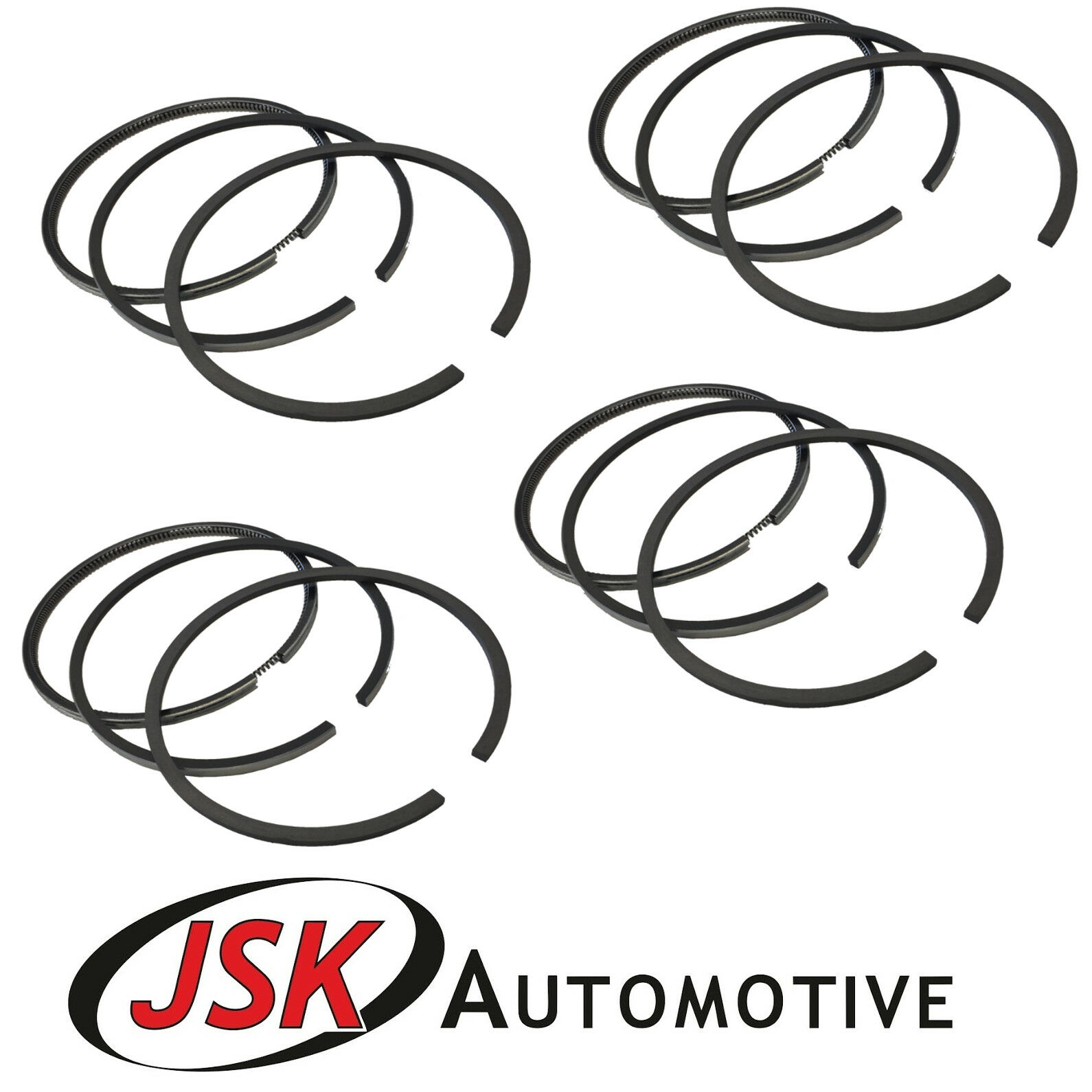 Piston Ring Set 12pc for Perkins Turbo Phaser 4-Cyl