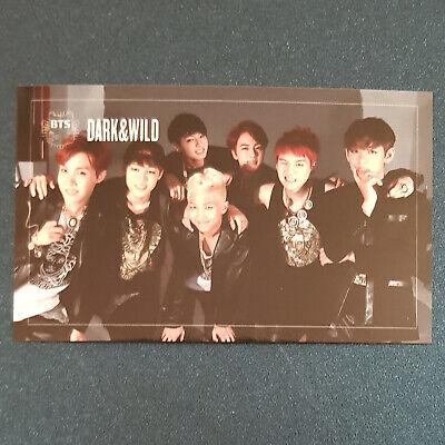 Group -  Official Photocard BTS Dark & Wild Danger Kpop