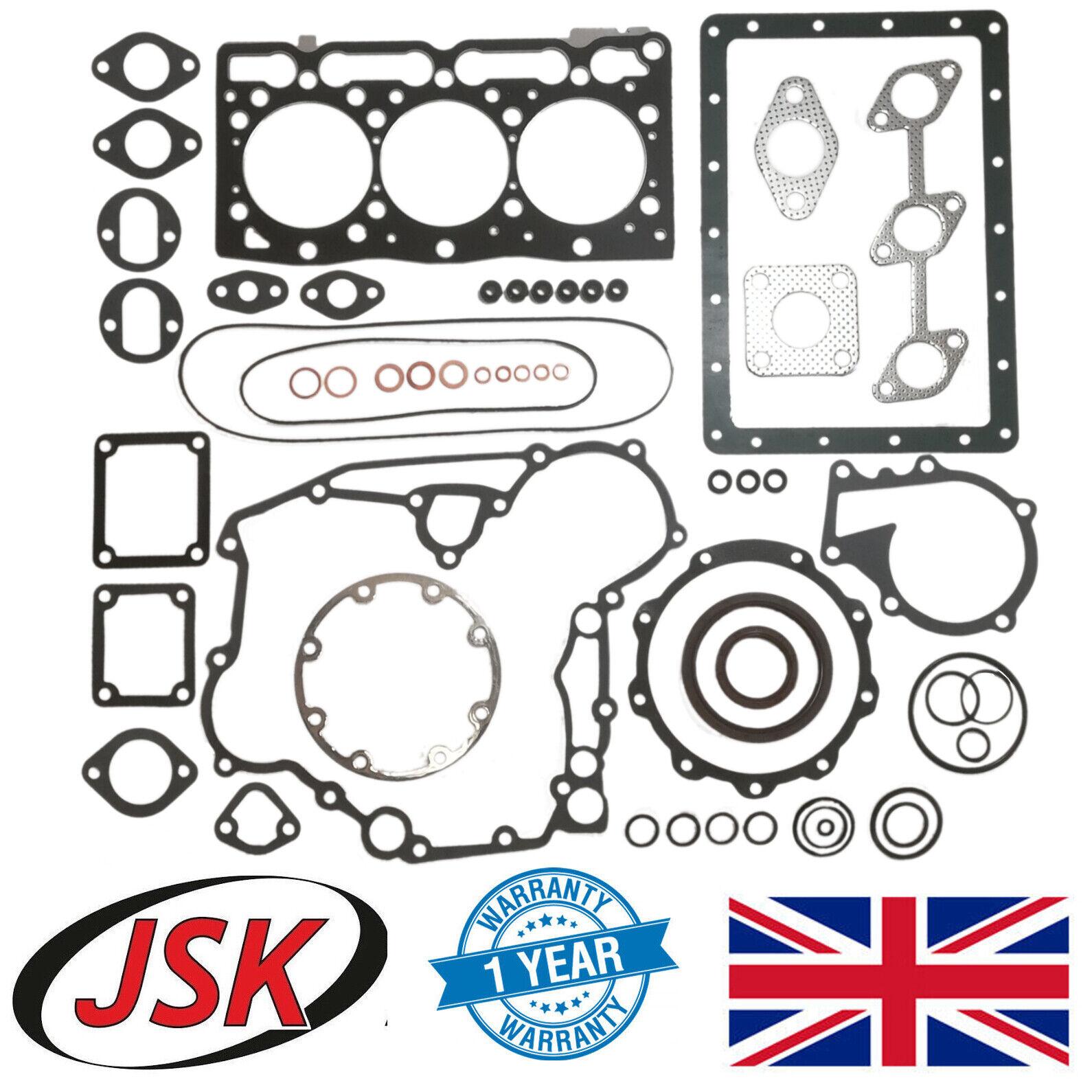 Joint Complet Kit Pour Kubota D1105 Moteur B1241 B2410 B2530 B2620 KB20 KB21X