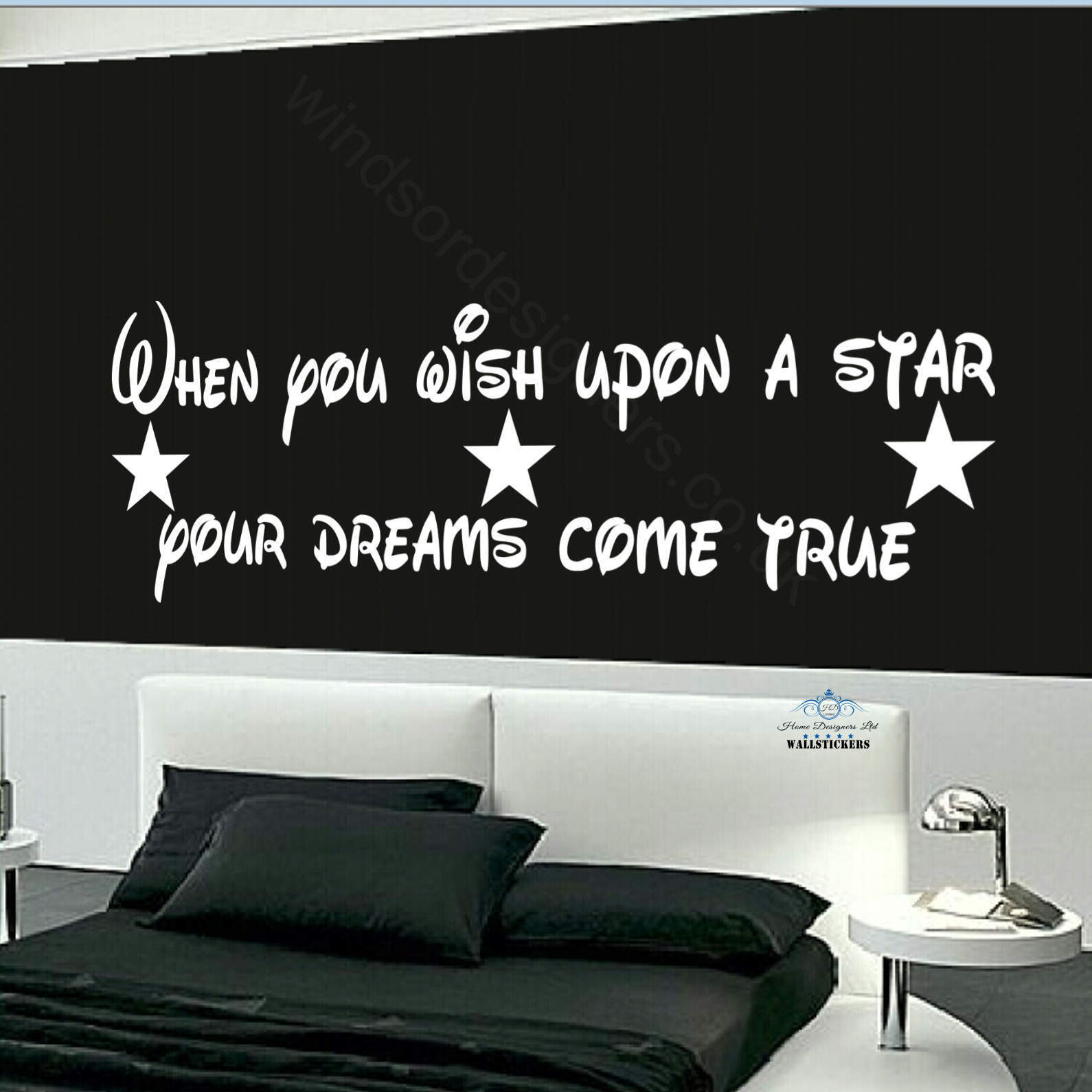 when you wish upon a star dream wall sticker design transfer print wall sticker wall sticker