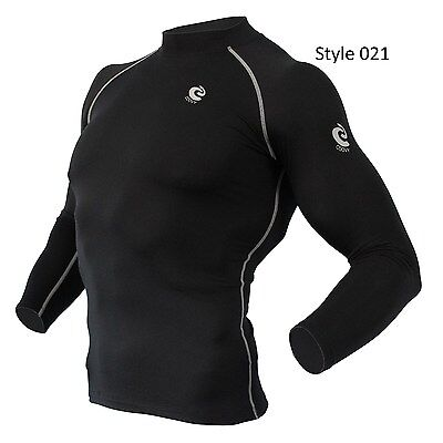 021 Black Thermal Winter Long Sleeve Shirt