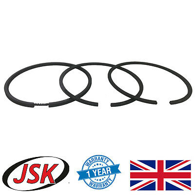3pc Air Compressor Piston Ring Set for Mercedes OM360 & OM366 Engines 88mm Bore