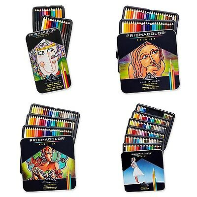 Prismacolor Premier Colored Pencils Soft Core, 24, 48, 72, 132, 150 Colors