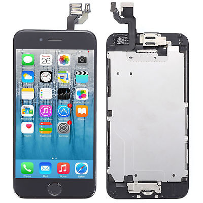 "Screen Replacement For iPhone 6 4.7"" LCD Digitizer Stroke + Home Button + Camera"