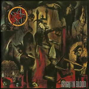 SLAYER - Reign In Blood Album Cover Art Print Poster 12 x 12