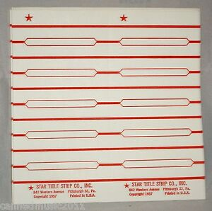 250-Blank-Juke-Box-Title-Strips-Star-Title-Strip-Co
