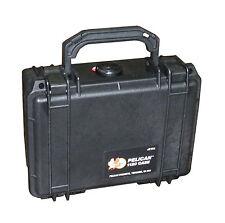New Pelican 1120 Black Case  W/PICK N PLUCK Foam