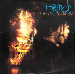 PRINCE-If-I-Was-Your-Girlfriend-PICTURE-SLEEVE-7-45-rpm-record-NEW-RARE