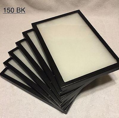 "6-150 Riker Mount Display Case Shadow Box Frame Tray   12"" X 8"" X 3/4"""