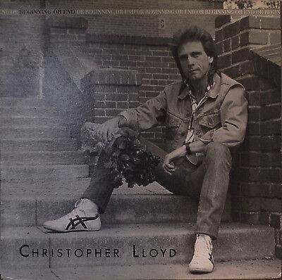 "CHRISTOPHER LLOYD: Beginning or End-NM1985 4-Song 12"" 45 RPM w/ LYRICS INSERT"