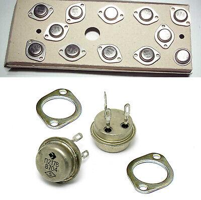 10 Pcs Transistor Ge Germanium Power Pnp P217v Asz18 30w 7.5a 60v Ussr Nos