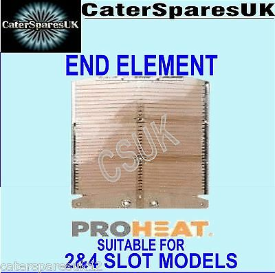 DUALIT PROHEAT NEW TOASTER ELEMENT END UNIVERSAL FITS 2 / 4 SLICE MODELS PARTS