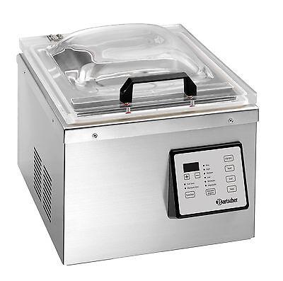 Bartscher Vakuum-Verpackungsmaschine Vakuumierer 290/4 Kammergerät Pumpe 4,62m³
