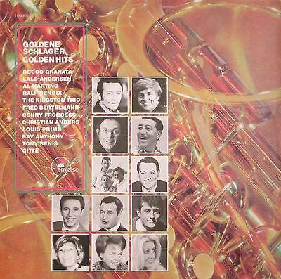 Goldene Schlager - Golden Hits der 60er Jahre: Gitte, Al Martino (Emidisc LP)