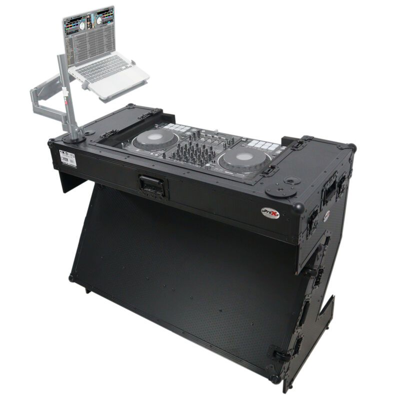 Pro X Z Style Table with wheels Fits Pioneer DDJ-1000 / SX3