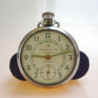 Ingersoll Triumph pocket watch (at fault)