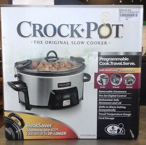 Crock Pot 6qt Programmable *New in the box *
