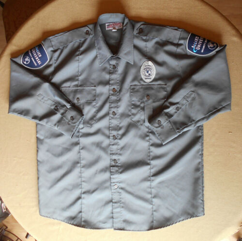 Allied Universal Security Services Uniform Shirt - Gray 17 - 17.5 - Long Sleeve
