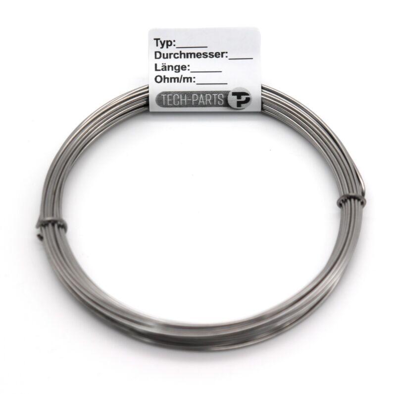 0,8mm 2,93 Ohm/m Kanthal D 2,5m - 20m Widerstandsdraht Heizdraht Styropor Draht