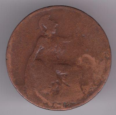 United Kingdom 1/2d Half-Penny 1912 Bronze Coin