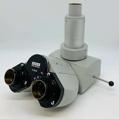 Zeiss 473028 Standard Trinocular Microscope Head With Photo Port