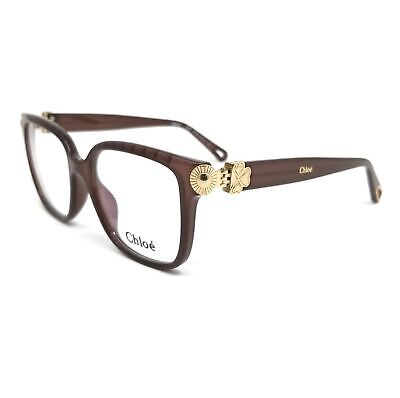 CHLOE Eyeglasses CE2732 210 Brown Rectangle Women 53x17x140