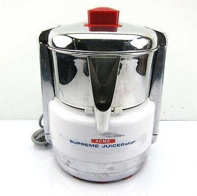 ACME SUPREME JUICERator 6001 Stainless Steel Commercial Juicer Juice