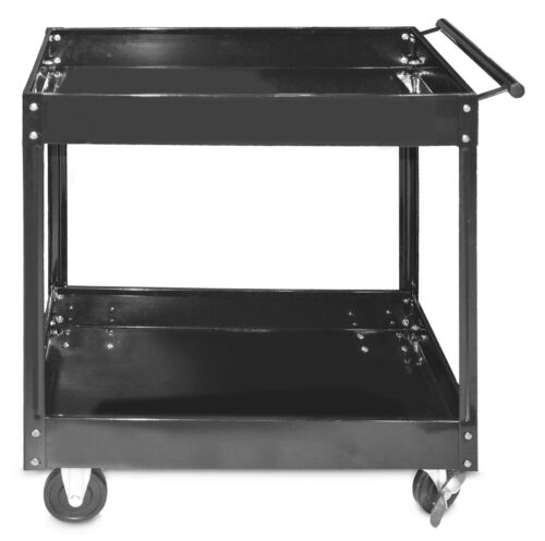 Steel Core 300lb 30in x 16in 2-Shelf Heavy Duty Steel Service Tool Cart