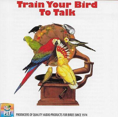 Train Your Bird to Talk Bird Training Audio CD (Teach Nearly 100 Words/Phrases)