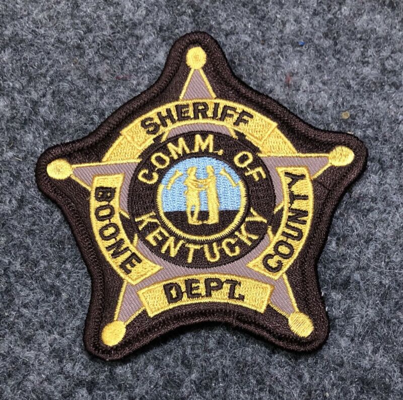 Boone County Sheriff Department patch Kentucky KY police