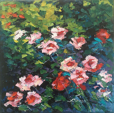 Original Art Oprina-Felicia Dolea - Oil Painting 10x10 in_# 722, used for sale  Laval