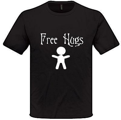 Frieden, Liebe T-shirts (Free Hugs T-Shirt Süß Spaß Familie Liebe Frieden)