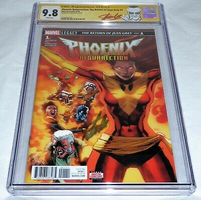 Phoenix Resurrection the Return of Jean Grey #1 CGC SS Signature STAN LEE 9.8 🔥