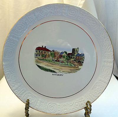 "Royal Tudorware Barker Bros. ""Rothbury"" w/Embossed Edges Collectors Plate"