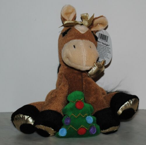Breyer~2005~Starlight with Tree~Christmas Holiday Plush Horse~NEW