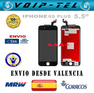 PANTALLA-COMPLETA-LCD-DISPLAY-TACTIL-SCHERMO-IPHONE-6S-PLUS-5-5-034-AAA-NEGRO