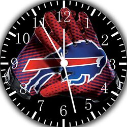 Buffalo Bills Frameless Borderless Wall Clock Nice For Gifts or Decor F118