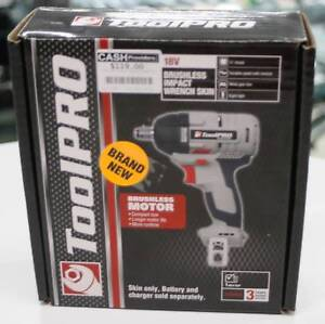 Tool Pro 18V Brushless Impact Wrench (Skin Only) Nerang Gold Coast West Preview