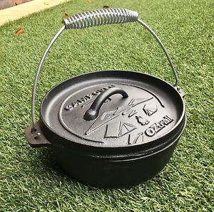 Camp oven, cast iron Duncraig Joondalup Area Preview