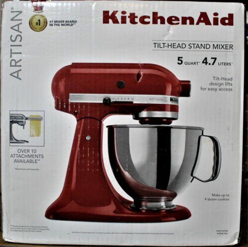 KitchenAid Artisan Series 5-Qt Tilt-Head Stand Mixer - Empire Red - KSM150PSER