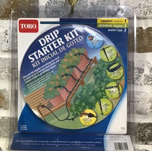 Toro  Blue Stripe  Drip Irrigation Drip Starter Kit-New in Package