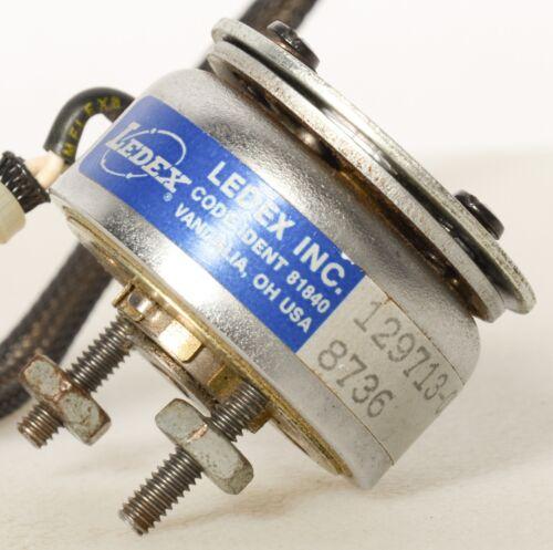 Ledex Rotary Solenoid ~ 129713 ~ 030 ~ 8736 ~ Code Ident 81840 & Screws