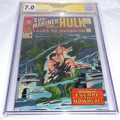 Tales to Astonish #71 CGC SS Signature Autograph STAN LEE Leader Appearance Book