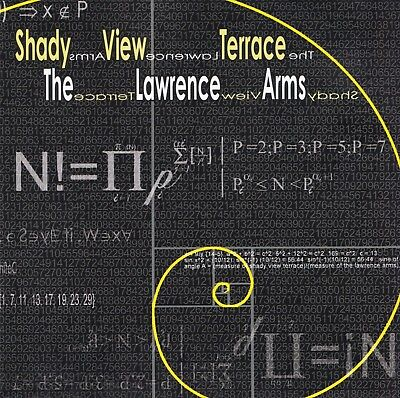 View Terrace - Shady View Terrace/The Lawrence Arms [Split CD] by The Lawrence Arms (CD)