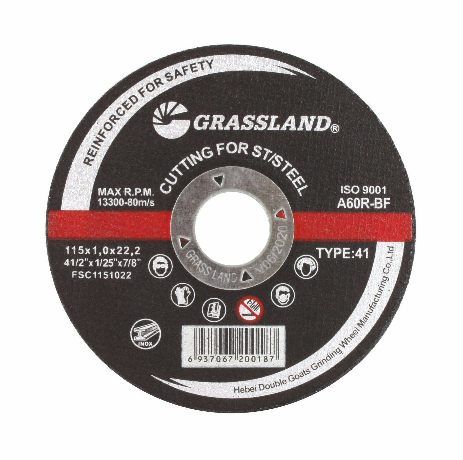 100 PACK 4-1//2/'/' x 1//16/'/' x 7//8/'/' CUT OFF WHEEL STAINLESS STEEL CUTTING DISCS