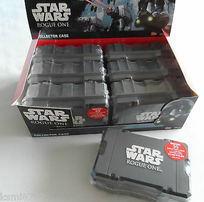 TOPPS  Star Wars Rogue One collectors case 39 cards + 1 LTD